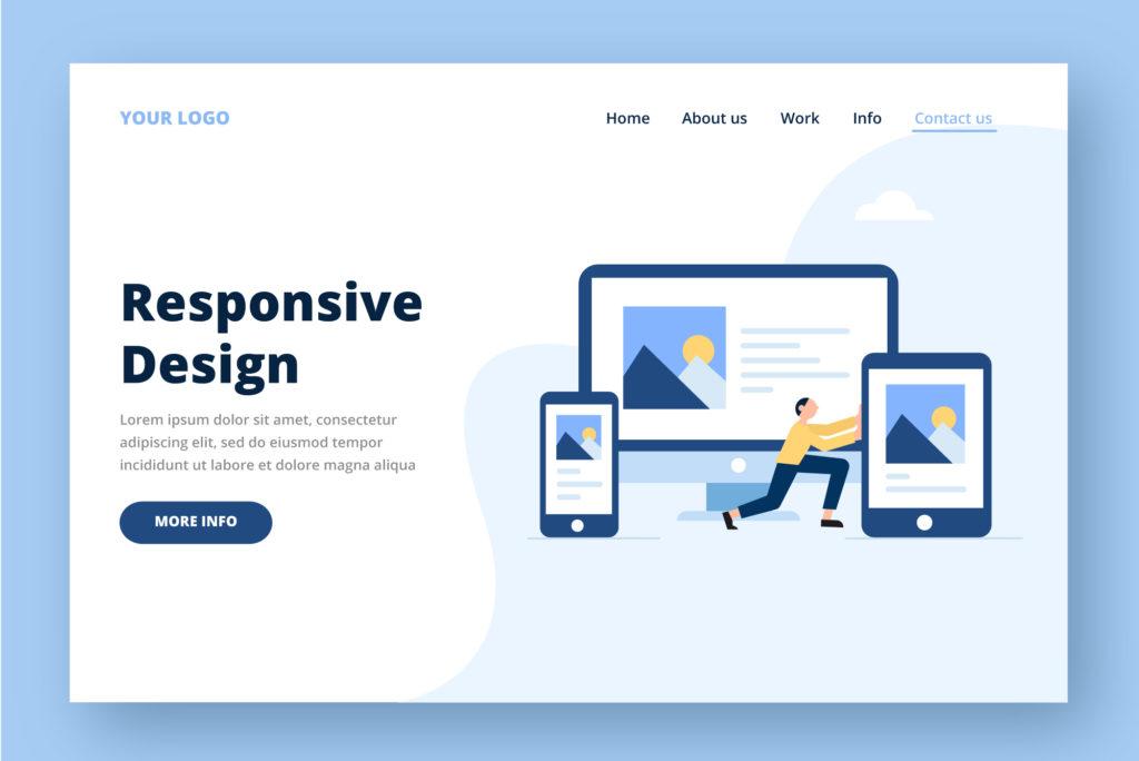 Responsive Web Design Mobile Friendly Website