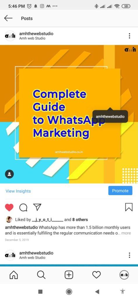 Instagram SEO tips