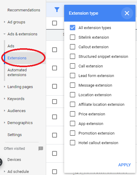 ad extensions - ppc optimization tips