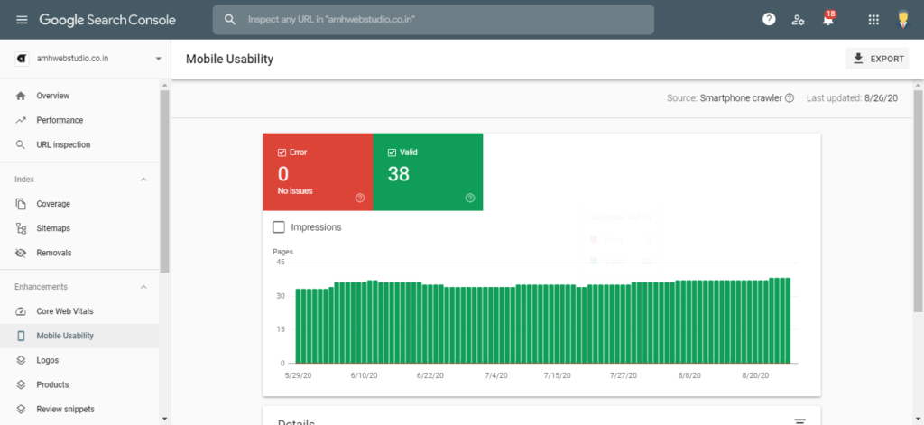 Mobile Usability- Google Analytics vs Google Search Console by Amh Web Studio.png